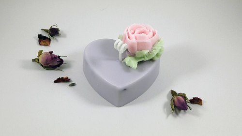 Valentine's Day gift Saiji love roses fragrance squeeze soy candles