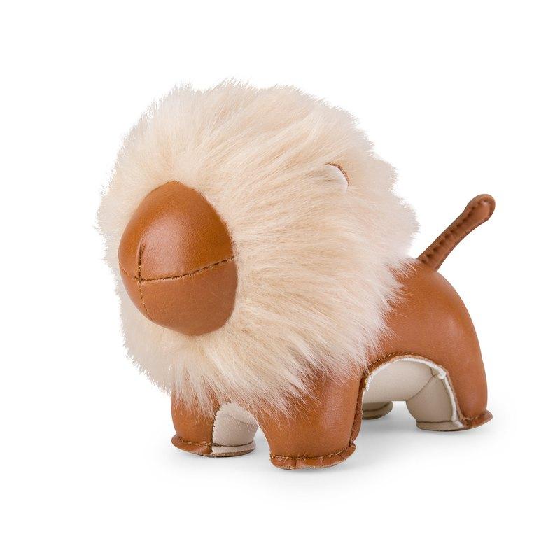Zuny - Lion 毛獅造型動物紙鎮