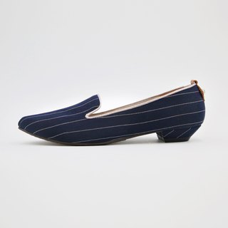 WL英倫系-南西(Nancy)低跟Heeled Loafers