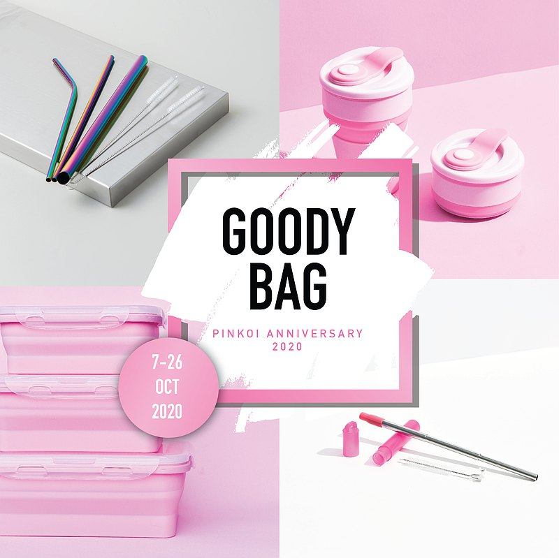 【Anniversary / Goody Bag】ECO PINK SET