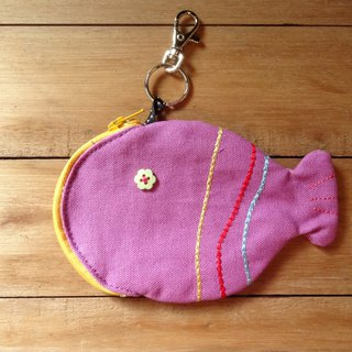 Every year there are fish - small fish purse