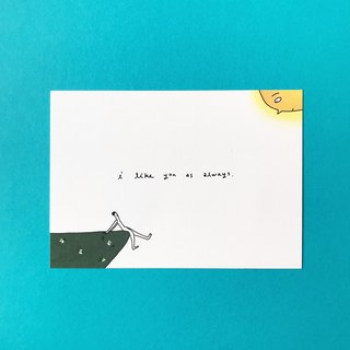 I Like You As Always | Postcard