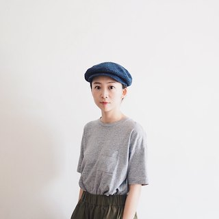 Newsboy Cap (blue)