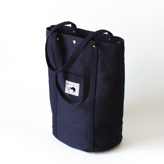 Thick pound canvas bag L / literary shoulder bag / super storage bag / texture like tote bag / casual sports bag