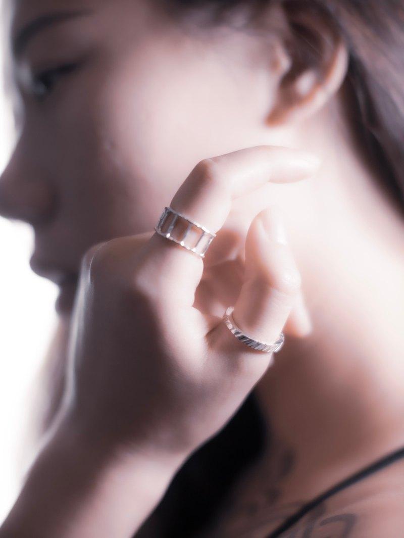 Único 系列 -  亟 925 純銀戒指
