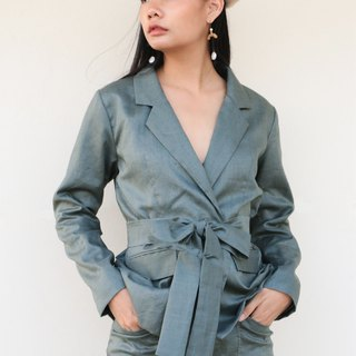 Lady Lord Suit Olive Green