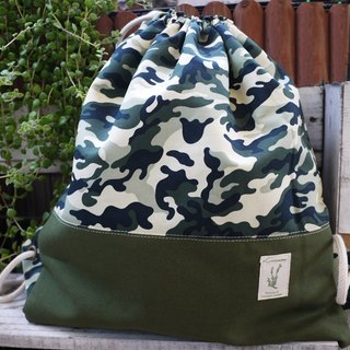 After Christmas camouflage beam port Backpack (excluding small decorative objects)