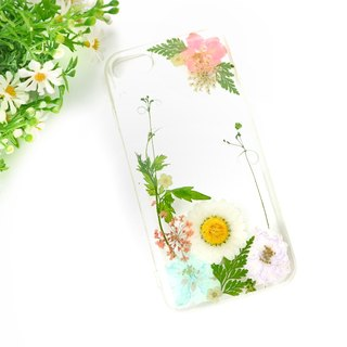 Exquisite Real flower phone case - for iphone 5/5s/SE/6/6s/6 plus/6s plus/7