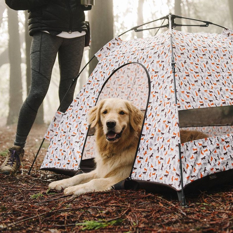 Camping wild fun pet special tent dog house waterproof anti-UV (2 colors)