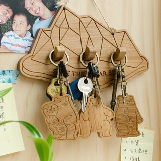 [Christmas gift] home of polar bear / key ring hanging version