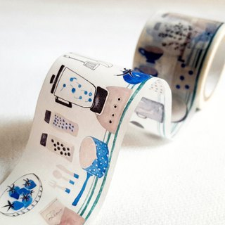 [Hoppy] Mini Box-Cook1 kitchen paper blue tape / GTIN: 4713077970690