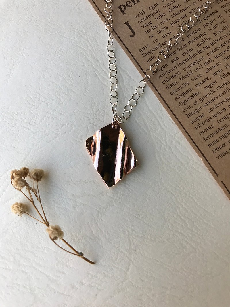 Langsheng Amplitude/Rose Gold/Silver Necklace