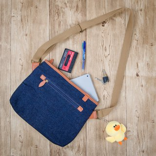 Lightweight summer weather Wenqing accompanying bag cowboy travel blue gift waterproof bag