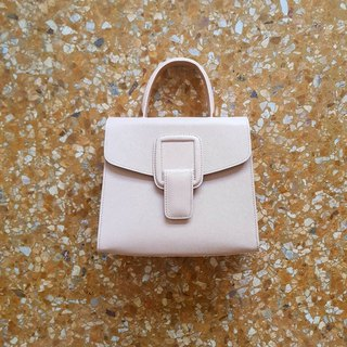 PINCH NO.1 (Sand 22 inches) Classic and Iconic Leather Handbag/Crossbody