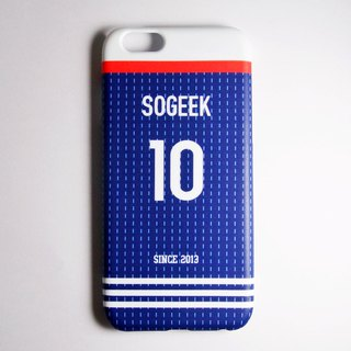 SO GEEK mobile phone shell design brand THE JERSEY GEEK shirt back number customized models 067