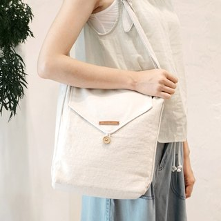 LOHAS simple side backpack Firendly Easy Shoulder Bag