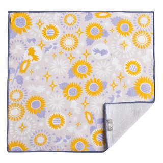 【IMA】WAFUKA  Japan made Soft, Cute & Unique Handkerchief - Goldfish