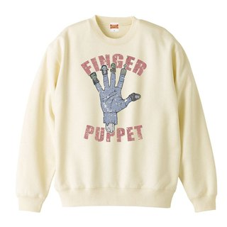sweat / finger puppet