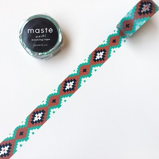 maste and paper tape Multi Pattern [Boximiya style - knit Ortega (MST-MKT187-OR)]
