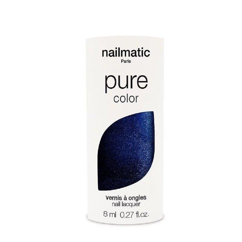 Nailmatic 純色生物基經典指甲油-MARNIE-寶石藍