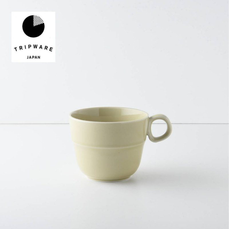 【Trip Ware Japan】馬克杯 日本製 美濃燒 (象牙米)