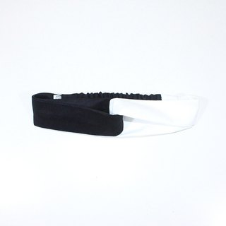 【The MAMA's Closet】Papillon (Black with White) / Headband