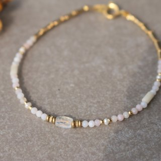 Moonstone Brass Bracelet 1124 to play together