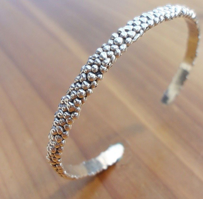 Little bit of silver bracelet