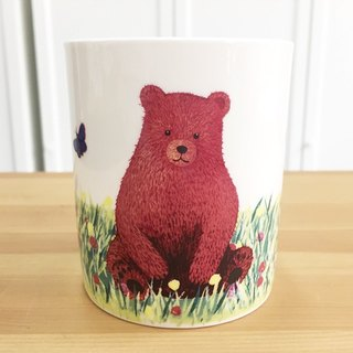 Bone china mug - Cubs spring / can be microwave / through SGS / do not fade