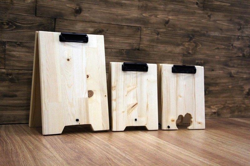 木製 木質 原木 萬用原木立牌 客製化 廣告立牌  三角夾式立牌