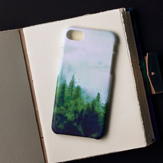 Forest and moon. Matte Case (iPhone, HTC, Samsung, Sony)