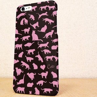 Free Shipping ☆ iPhone case GALAXY case ☆ pink cat (cat) phone case
