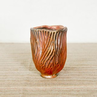Wood fired pottery. Rock Mountain Cup Teacup 4