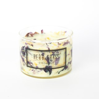 Floral Scented Candle 220ml - Violet and Calendula