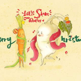 ▴Lazy Root Association▴Christmas Card