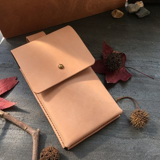 Hin window leather art - handmade leather - mobile phone bag waist hand-made vegetable tanned chrome tanned customized custom culture