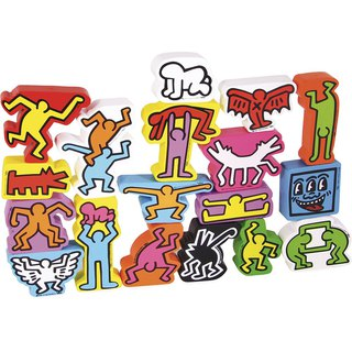 Vilac - Keith Haring Stacking Figures
