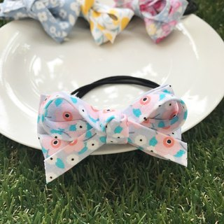 Four flowers knot hair bundle