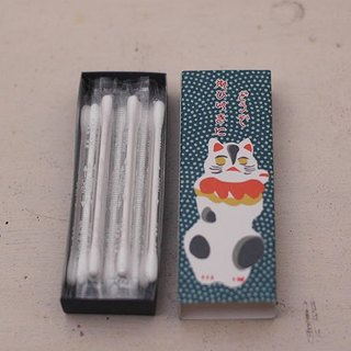 Classiky x Cat Match Box Cotton Swab【Every Time (20502-1)】