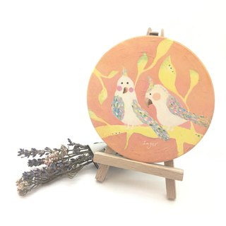Sunbird parade ceramic water coasters