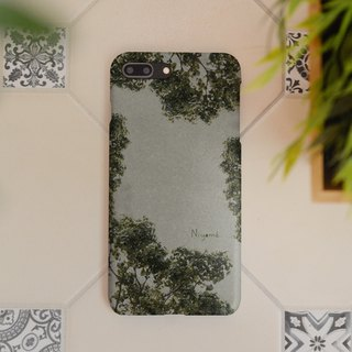 The old natural tree iphone case สำหรับ iphone7 iphone8, iphone8 plus ,iphonex
