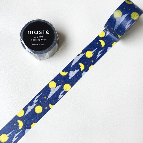 maste and paper tape Multi Amazing Life series by midnight (MST-MKT162-H)]