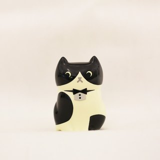 hime's cats Giant cat doll - black and white gentleman cat