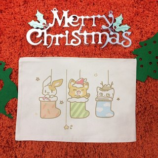 Christmas gift illustrator Y Planet - mood essay Christmas makeup point your table canvas placemat