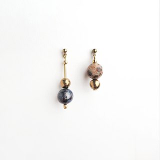 Unbalance ' Rain Drop Earrings (multi)