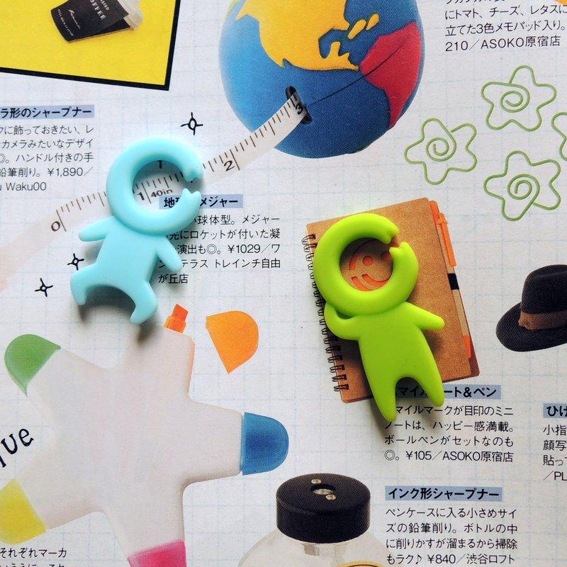 kalo卡樂創意 小小人造型磁鐵(七入) 交換禮物 聖誕禮物 耶誕禮物