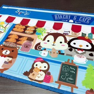 Squly & Friends Placemat (Squly Cafe) - F002SQH