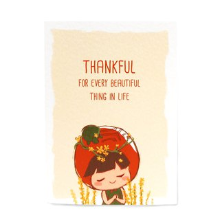 Thankful Card (Agrimony)  感恩卡 仙鹤草