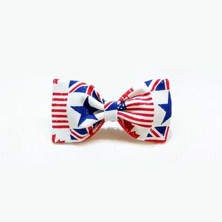 Ella Wang Design Bowtie Bow Tie Bow Dog England Flag