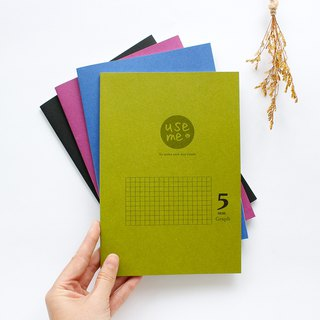 UseMe / 25K squared fixed page notebook